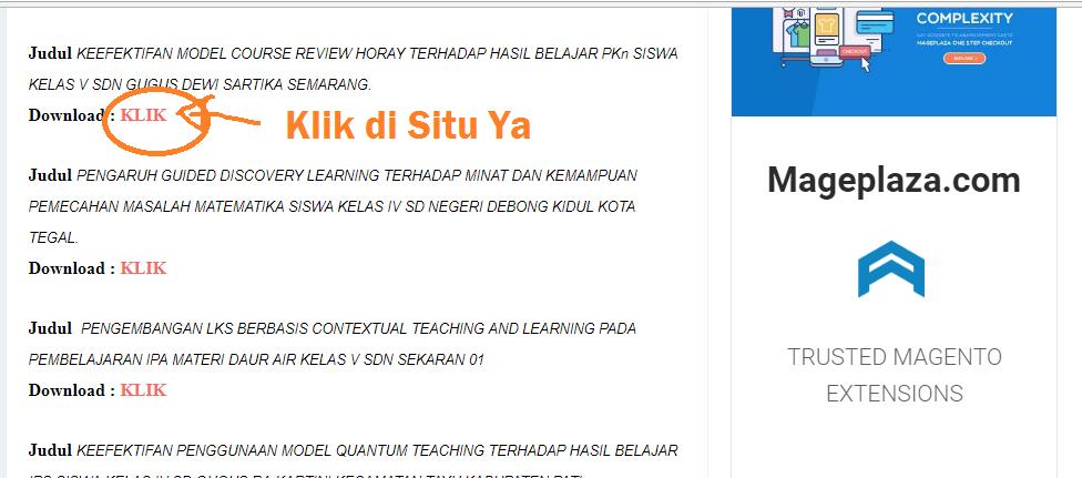 Download Contoh Ptk Sd Lengkap Kelas 1 2 3 4 5 Dan 6 Mudah Download 1 X Klik Karyatulisku